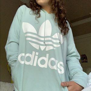Adidas Trefoil Mint Hoodie
